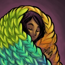 Knitted cocoon 2